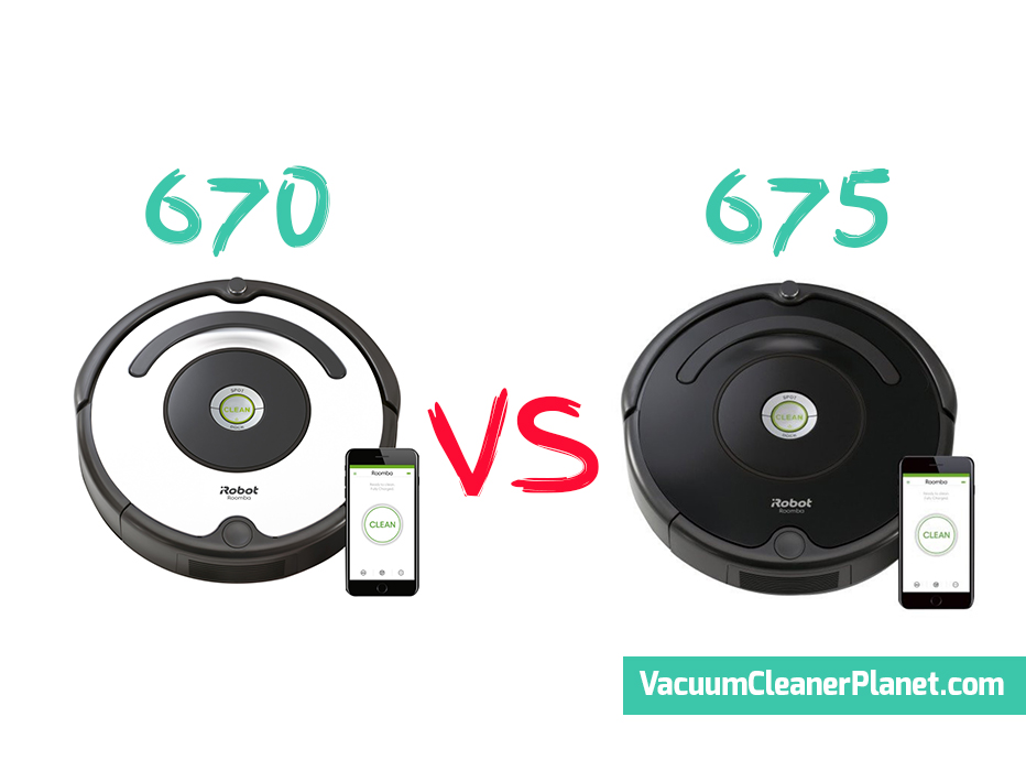 Irobot Roomba 670 Vs 675 Review