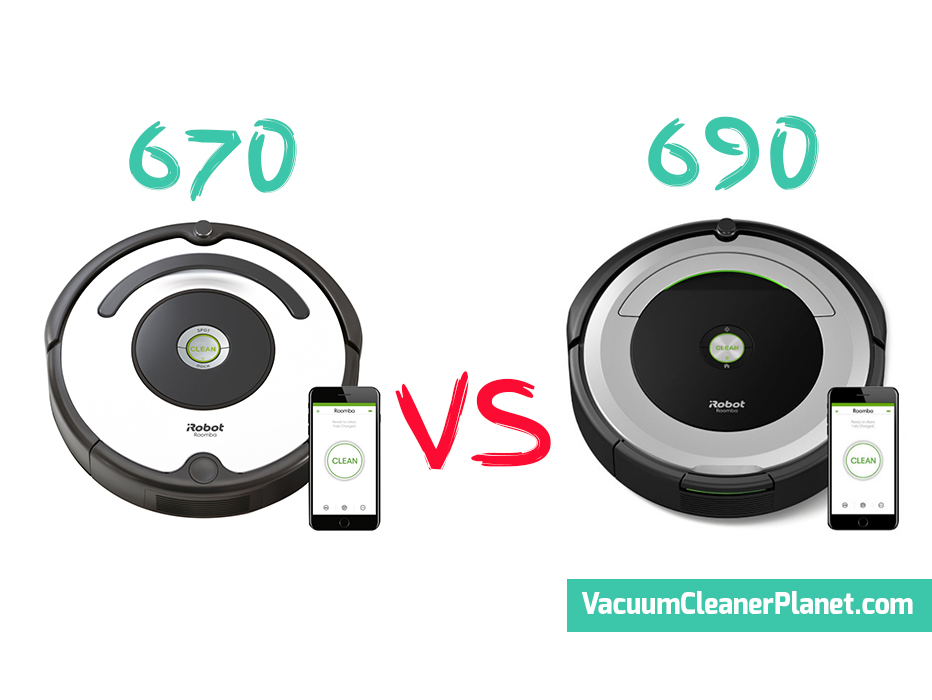 Irobot Roomba 670 Vs 690 Review