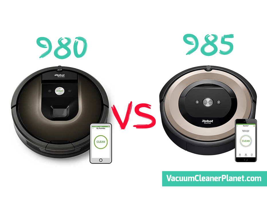Irobot Roomba 980 Vs 985